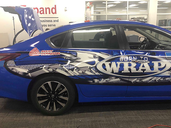 Services Vehicle Wrap